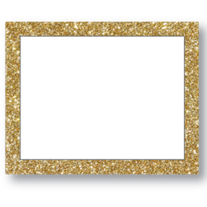 Gold Glitter Framed Poster Board: Make a Poster : Poster Supplies