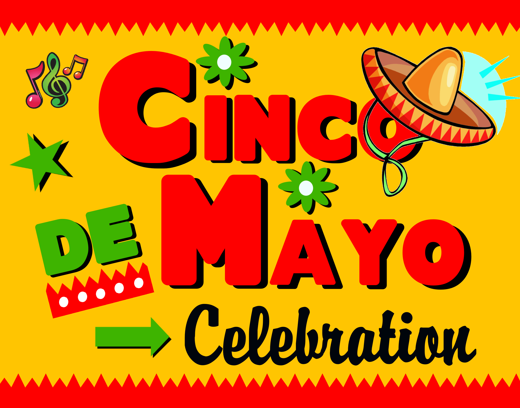 Create A Cinco De Mayo Celebration Poster Holiday Poster